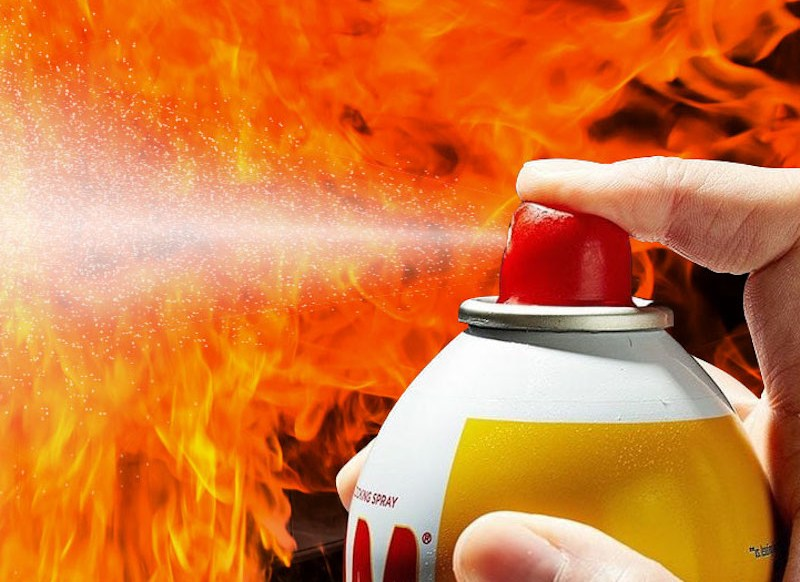 NOS: Food, flares and fires