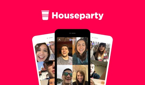 Houseparty app on the rise