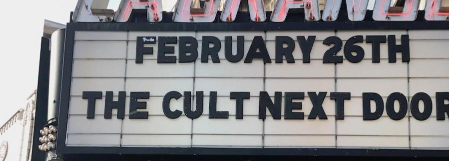 On+Feb.+26+the+Cult+Next+Door%2C+a+documentary+directed+and+produced+by+Jake+Youngman%2C+senior%2C+premiered+at+the+La+Grange+Theater.+