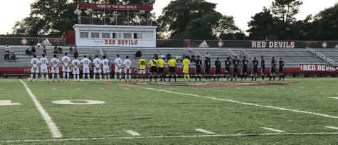 Boys' soccer loses first conference match against rival York