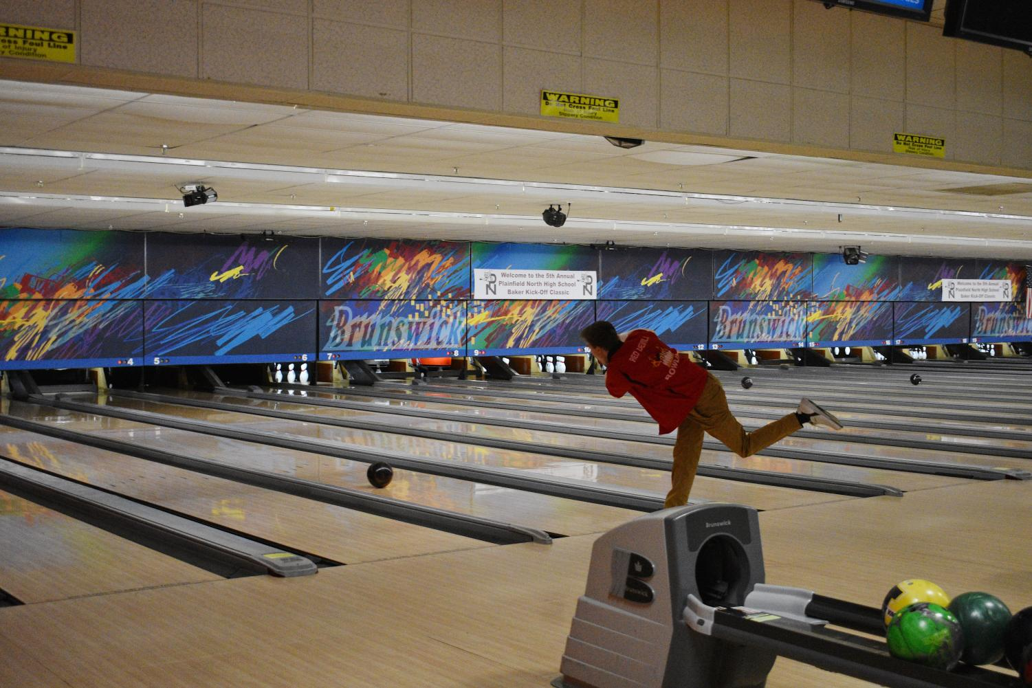 Boys bowling is just one of the winter sports beginning to start their season.