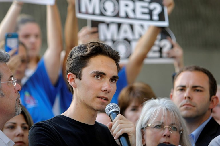 Since+the+shooting%2C+MSDHS+students+such+as+David+Hogg+%28pictured%29+have+pushed+for+stronger+gun+restrictions.+However%2C+some+see+this+as+a+violation+of+constitutional+rights.