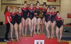 Girls varsity gymnastics takes third at Sectionals