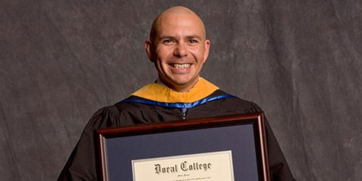 Pitbull is a famous pop rapper from Cuba who will be performing at Ribfest this summer. Not only does he have many awards to his name, but he's a great educational role model. Just look at his honorary degree.