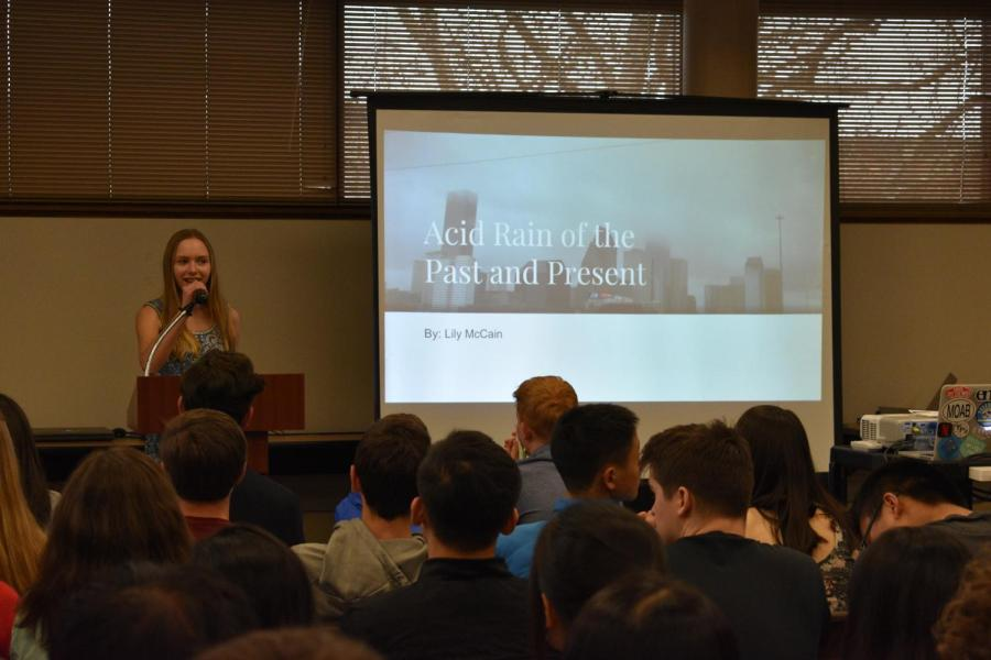 Earth Science Honors Symposium showcases semester projects