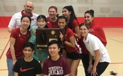 Girls badminton wins sectionals