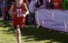 Varsity boys cross country place ninth at Palatine