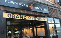 Grand opening: Forbidden Noodles