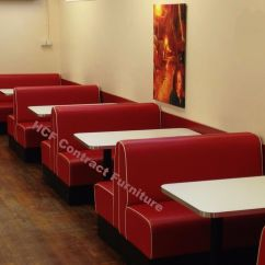 Restaurant Sofa Booth Seating Ornate Upholstered Booths Fixed Bench Bar