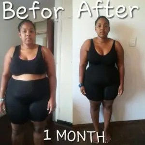 Before And After Results HCG Diet