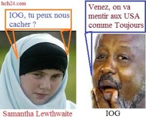 Samantha Lewthwaite et IOG