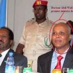 Le nouveau premier ministre de la somalie - Docteur Abdi wali