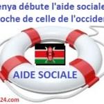 aide sociale au Kenya