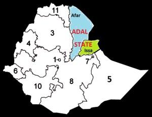 afar - issa régions