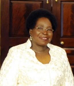 Nkosazana_Dlamini-Zuma_la présidente de la commission de l'Union Africaine