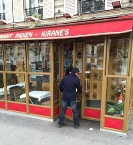 restaurant indien KIRANE'S - à - PARIS