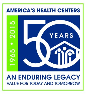 America's Health Center - 50 Years logo