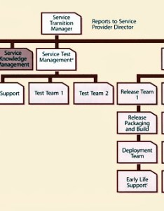 Figure example of an organization for service transition also itil version chapters rh hci