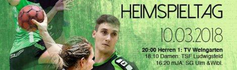 Heimspielwochenende 10./11.03.