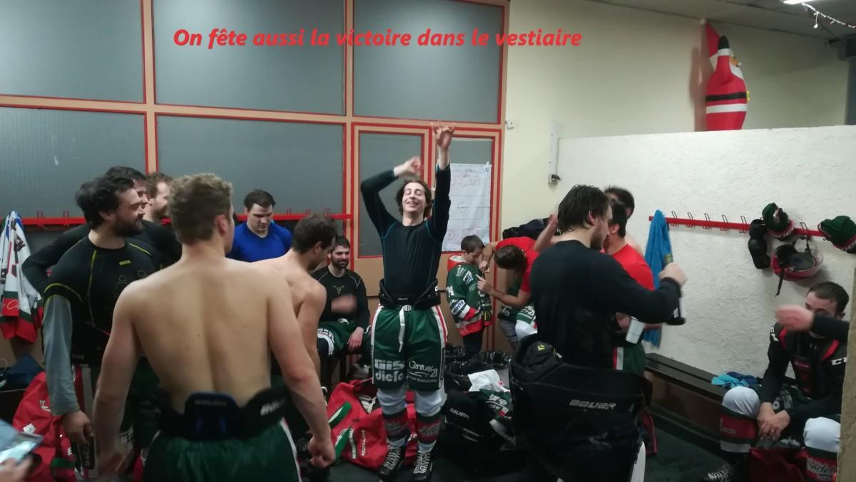 #D1#J17 La victoire des Yétis comme un seul Homme!!!