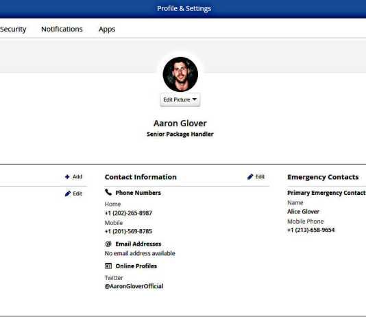 Ceridian Screen