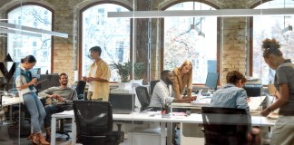 Team in the Office