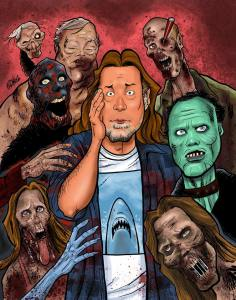 Walking Dead Artwork Greg Nicotero and his creations