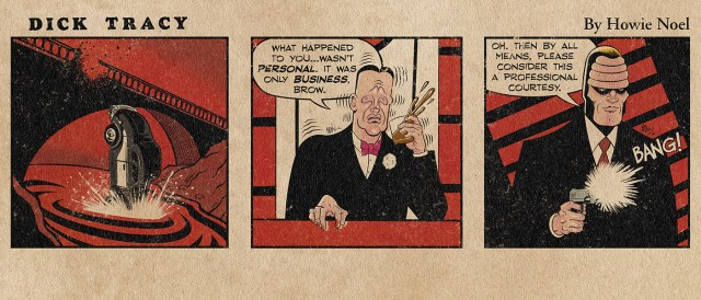 Dick Tracy Saturday Daily Strip