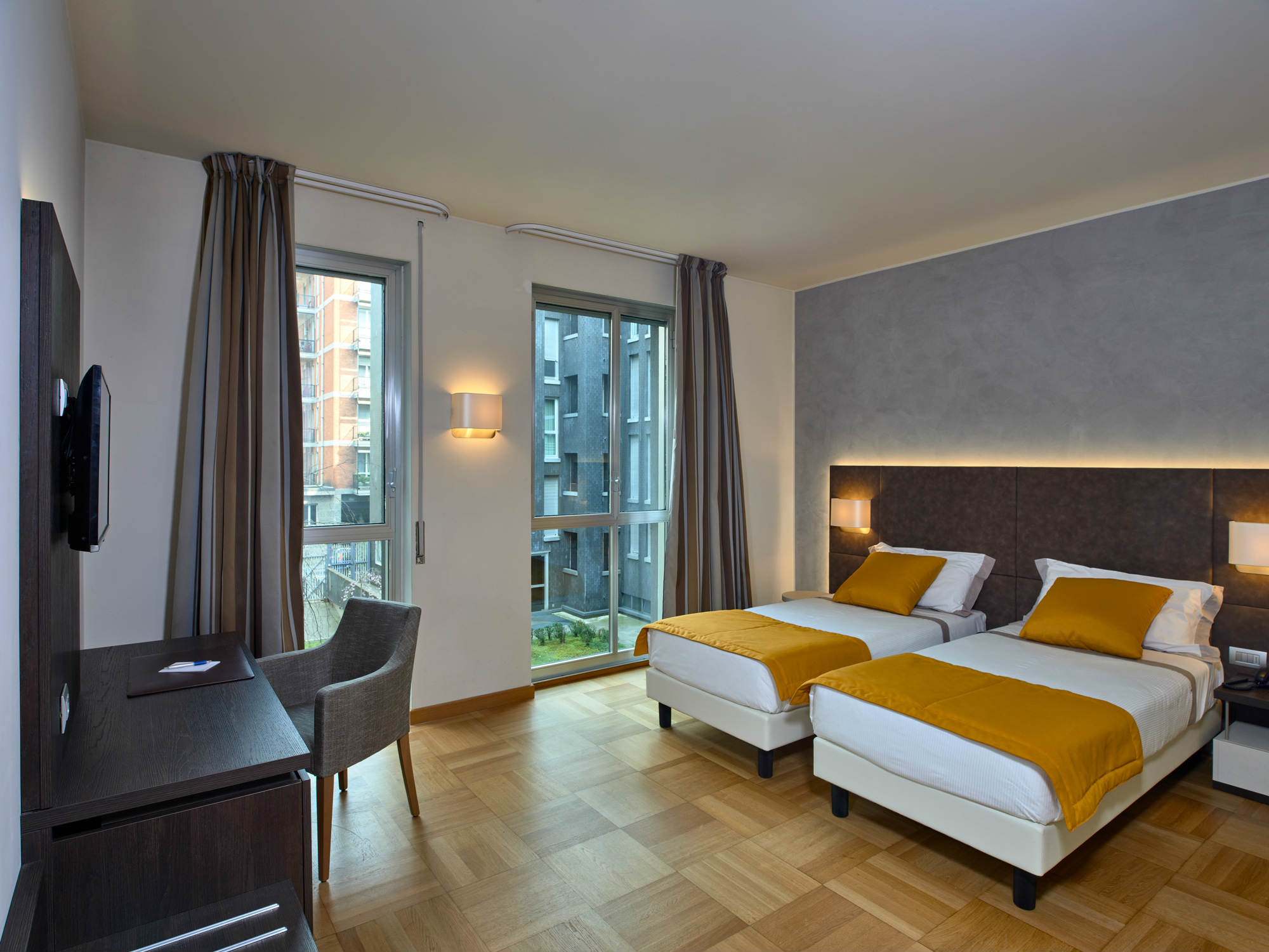 Double Room  Hotel Como  4 stars hotel  Lake Como