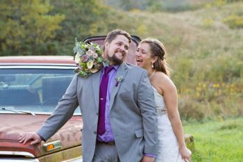 Wedding portrait by Ellen Gwin Photographer.