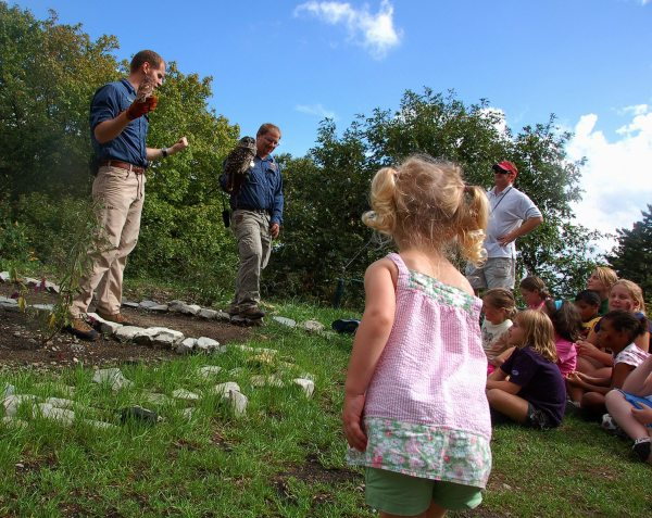 Grandfather Mountain's annual KidFest showcases the park's natural wonders to younger visitors through fun, games and education. Photo courtesy of the Grandfather Mountain Stewardship Foundation