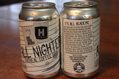 NC Beer Guys Review 'All Nighter' - Oatmeal Coffee Stout Between Ivory Tower Brewery, Howard ...
