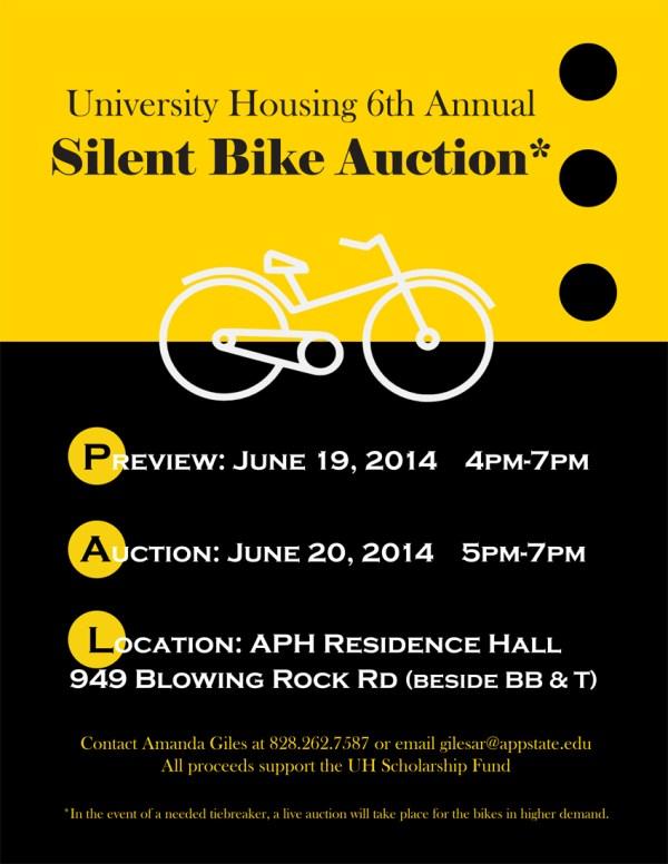 Asu' Department Of Housing Hosts Sixth Annual Silent Bike