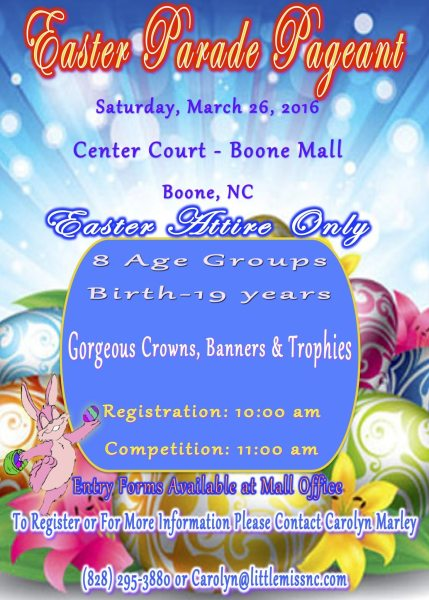 Easter Parade Pageant