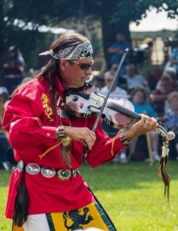 Arvel Bird at Roasting Ears of Corn Festival