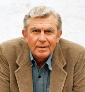 Andy Griffith - Photo Courtesy of Blue Ridge Hall of Fame website.
