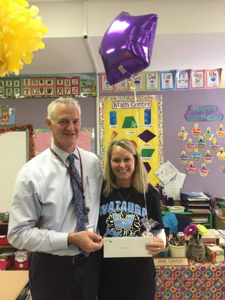 Anne Donadio of Cove Creek with Principal Cone