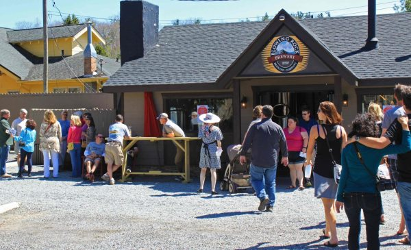 This is the scene from a previous NC Beer Month event in Blowing Rock. Photo by Amanda Lugenbell