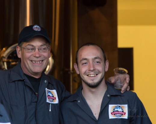 Blowing Rock Ale House, Restaurant and Inn Staff during the grand opening on Thursday.
