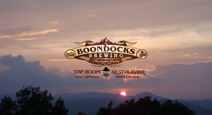 Boondocks Brewing Tap Room & Restaurant Sunset 1