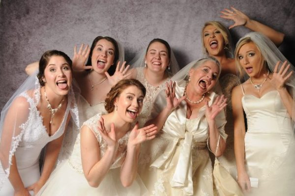 High South Wedding Expo 2016 Fashion Show Models. Photo by Boone Photo Booth.