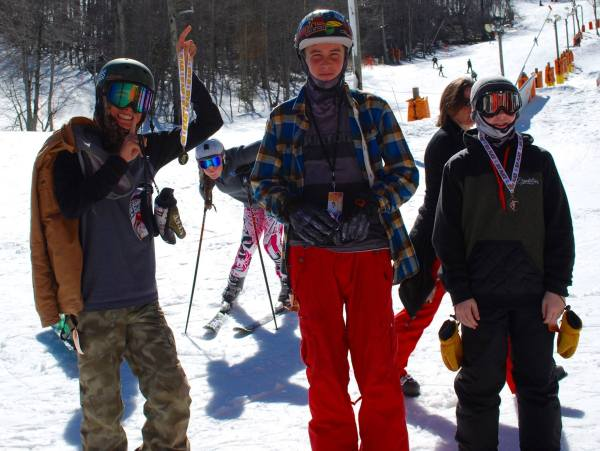 Boys 14 and Up (Calvin Hood, Avery Cannon and Ben Simpson)