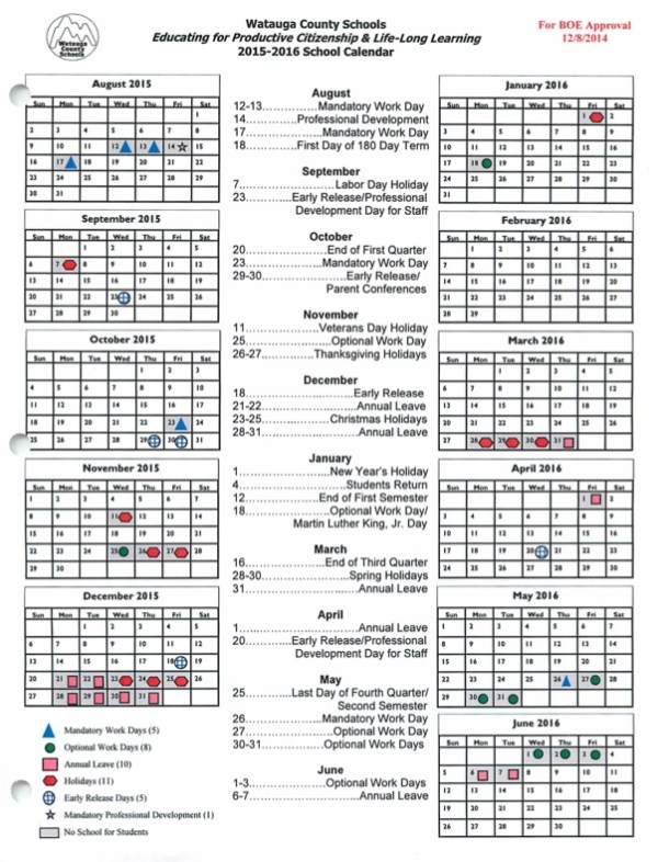 Search Results for Wake County 2015 16 Calendar