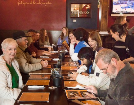 Watauga Cash Mob at Galilos Restaurant