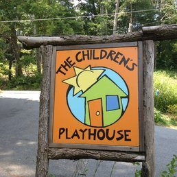 Children's Playhouse Sign
