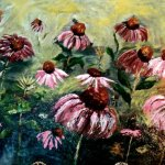 Coneflowers on Ruffin