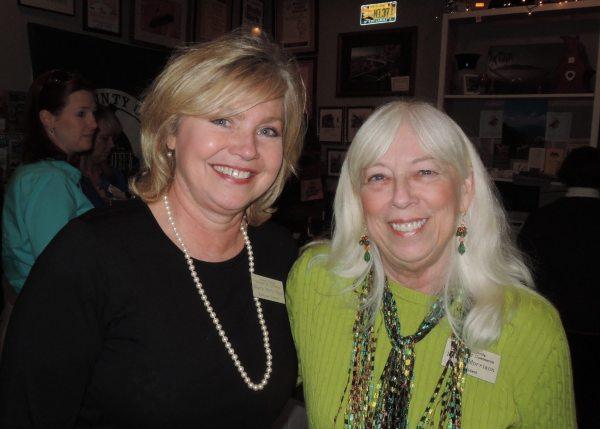 Executive Director Melynda Pepple and Board President Nancy Morrison. Photo by Jim Swinkola