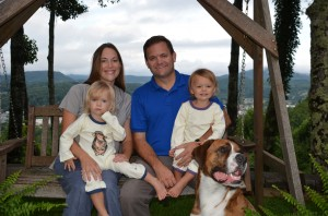 Templeton and his family.