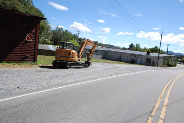 The Rivers Walk project is proposed at the intersection of Water Street and Poplar Grove Road. Photo by Ken Ketchie
