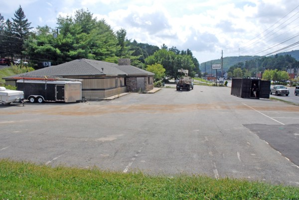 This property could be home to the next apartment complex in Boone. Photo by Ken Ketchie